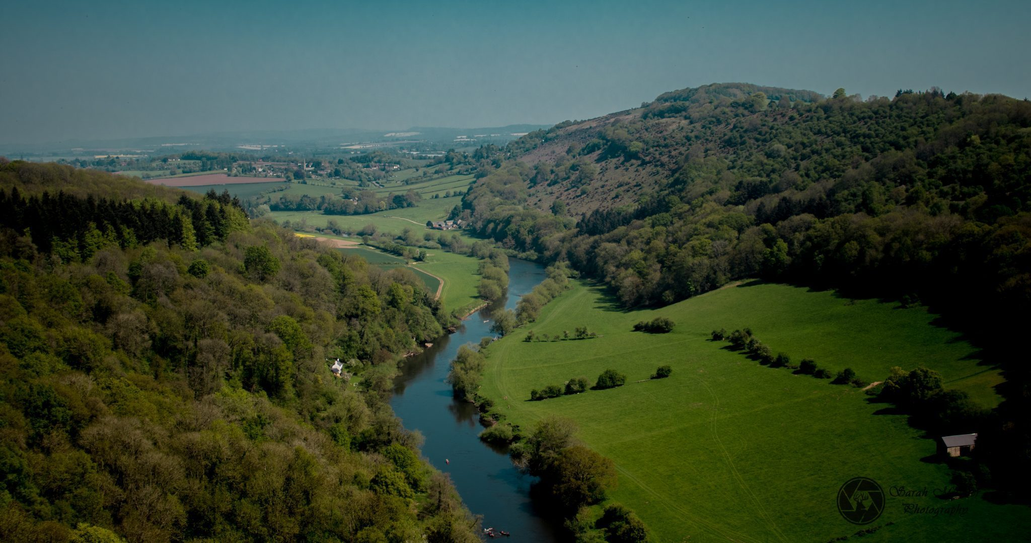 Walk the beautiful Wye valley to the ancient Tintern Abbey